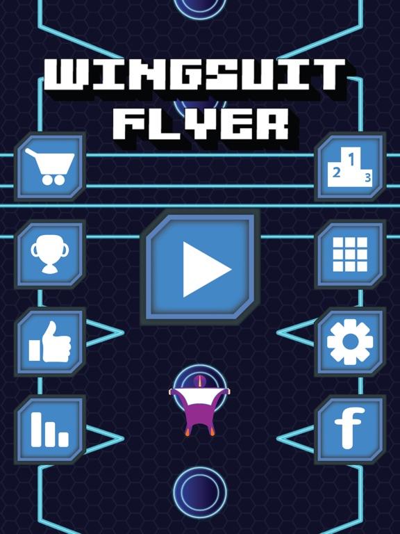 iPad Image of Wingsuit Flyer