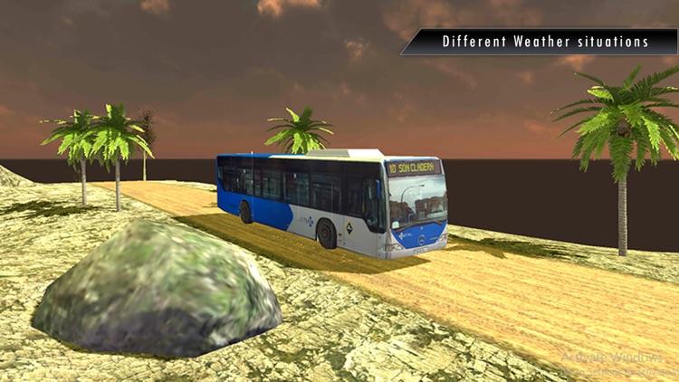 Coach Bus Simulator 2017 Summer Holidays screenshot-4