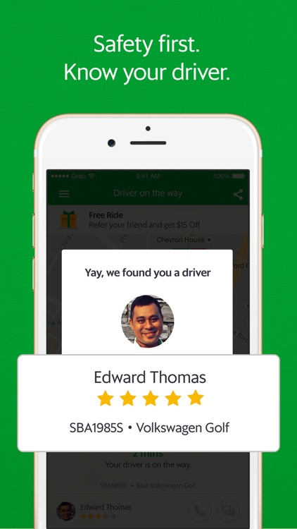 Grab - Ride Hailing App screenshot-2