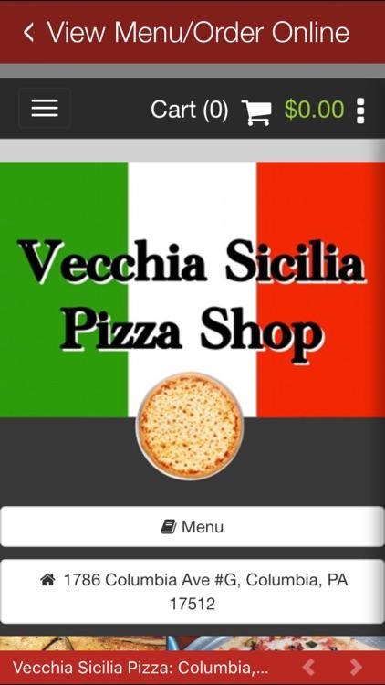 Vecchia Sicilia Pizza screenshot-3