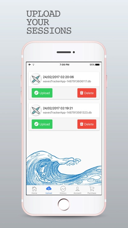 WavesTracker - Surf Track App