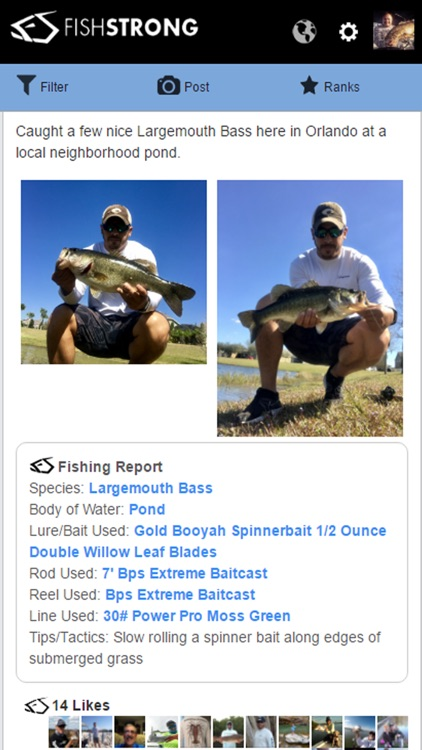 Fish Strong – Regional Fishing Reports screenshot-3