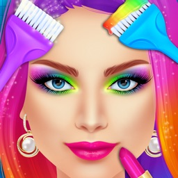 Make Up & Hair Salon Makeover