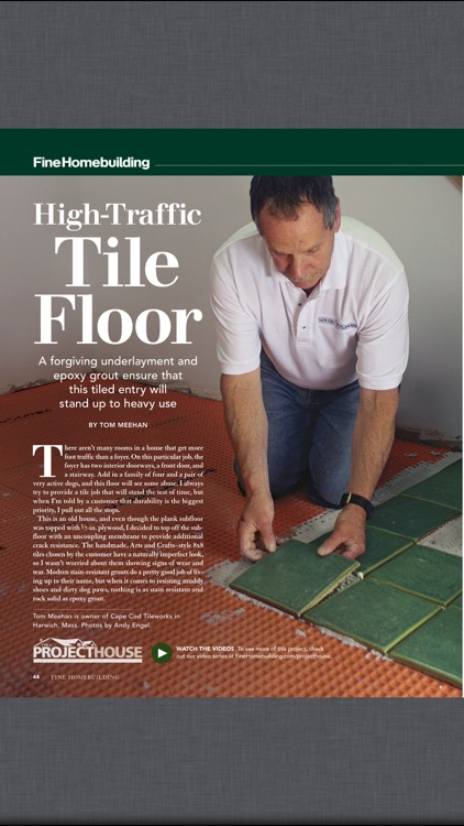 Fine Homebuilding Magazine screenshot-1