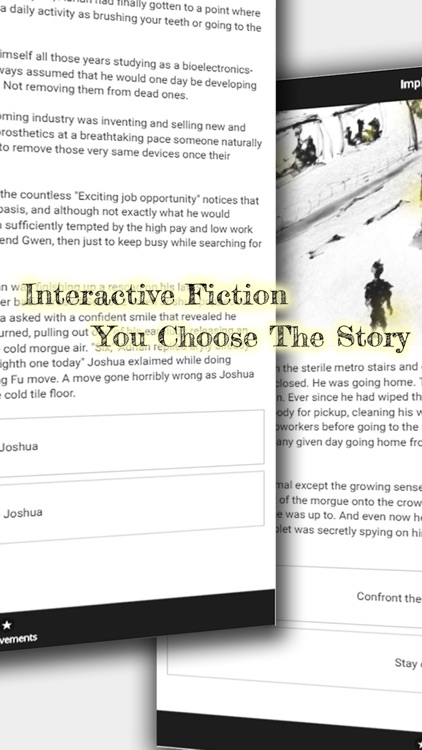 Implant - An Interactive Sci-Fi Novel