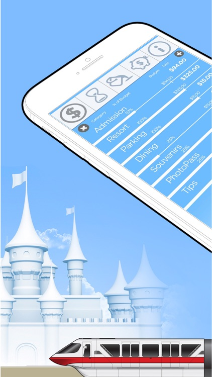 Magic Band Budget : Disney World Expense Tracker