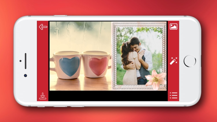 Romantic Photo Frame - Instant Frame Maker screenshot-4