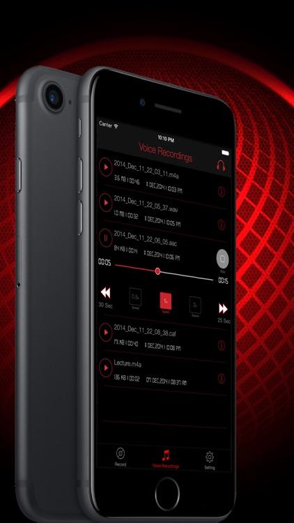 HD Audio Recorder : Voice Memo