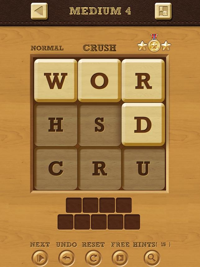 Words Crush Hidden Words on the