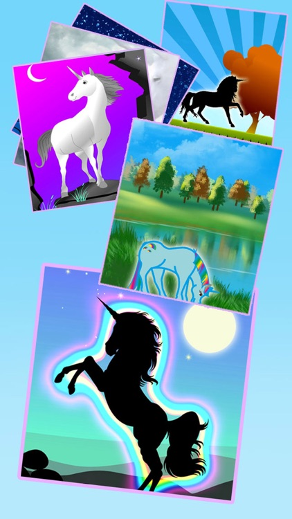 Unicorn Wallpaper Maker – Add your own text!