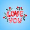 Good Night My Love - Watercolor Romantic Greetings