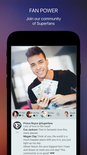 Prince royce on the app store iphone screenshots m4hsunfo