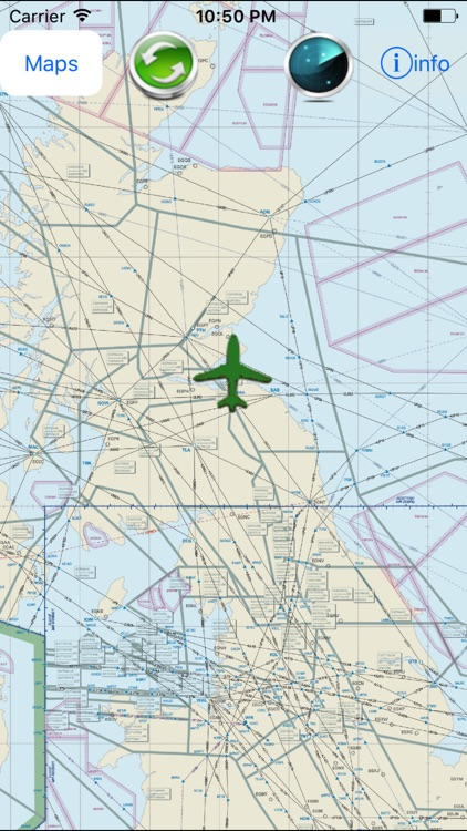 Europe High Altitude Enroute Charts-IFR Charts by SendFreeFax net