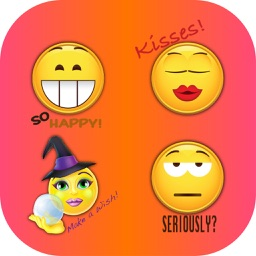 Message Emoji Exploji - Large Smilie Stickers!
