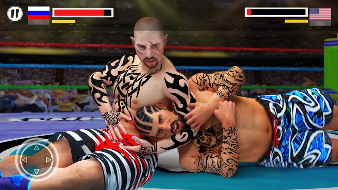Real Wrestling Revolution 3d - World Wrestler Game - Online