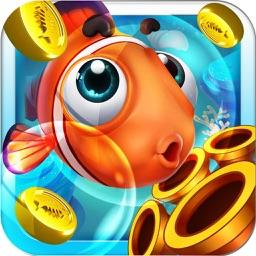 电玩捕鱼机-街机达人必备全新电玩城打鱼游戏