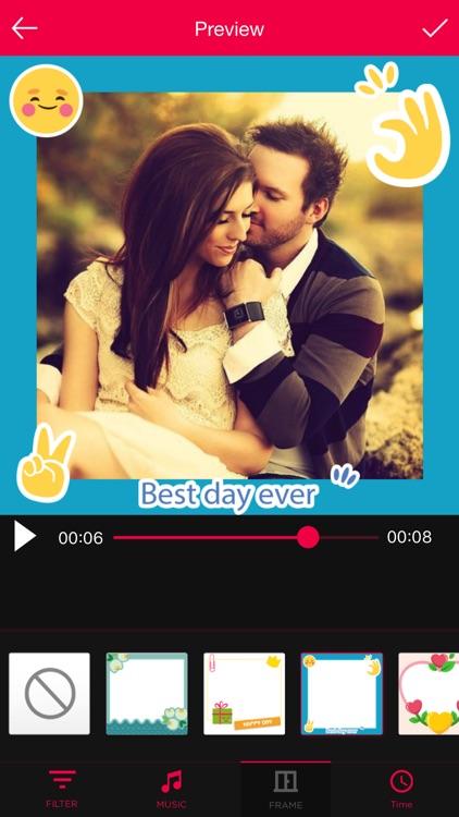Anniversary Movie Maker with Music screenshot-3