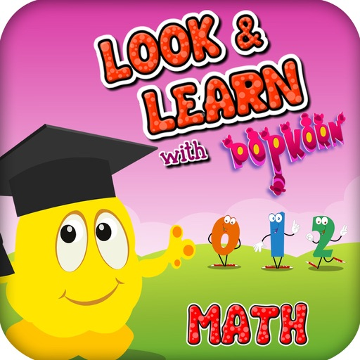 Look And Learn Math with Popkorn : Beginner Level