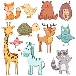 Sweet Baby Animal Stickers