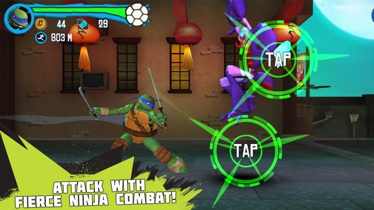 Teenage Mutant Ninja Turtles: Rooftop Run screenshot-4