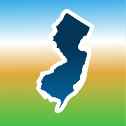 Aqua Map New Jersey NJ Lakes - GPS Nautical Charts