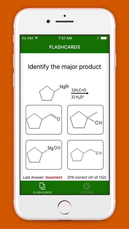 Awesome Organic Chemistry Flashcards screenshot-4