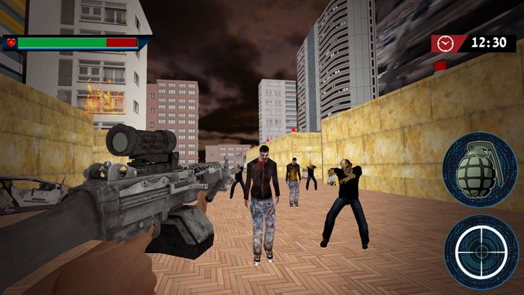 Zombie Sniper Shooting Expert