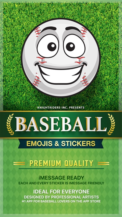 BaseMoji - baseball softball emoji & stickers app