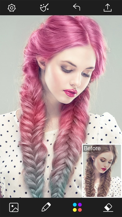 Hair Color Changer - Beauty Colorfy Makeup Effects - Revenue