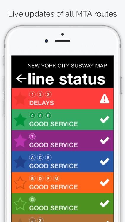 New York City Subway Map screenshot-4