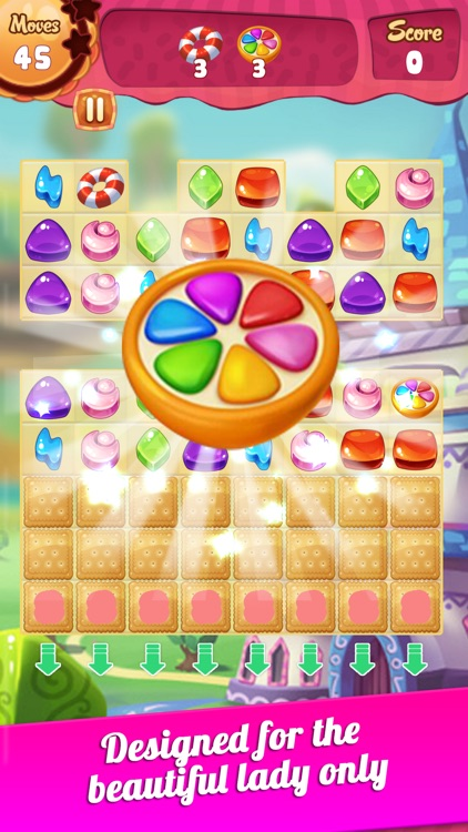 Sweet Candy - New Match 3 Puzzle Game with Friends screenshot-3