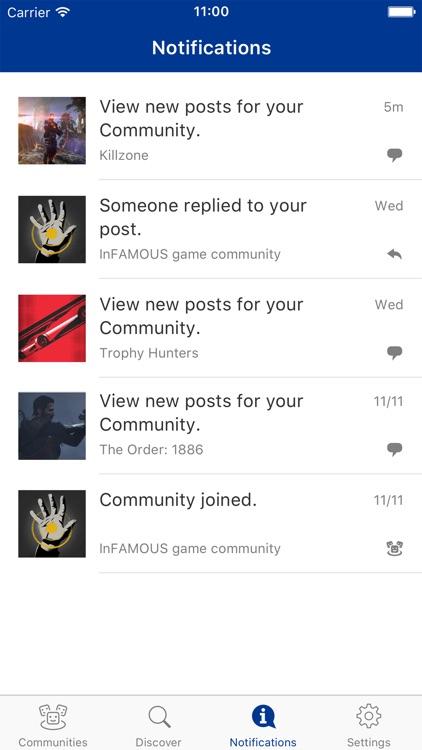 PlayStation Communities screenshot-3