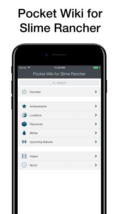 Pocket Wiki for Slime Rancher