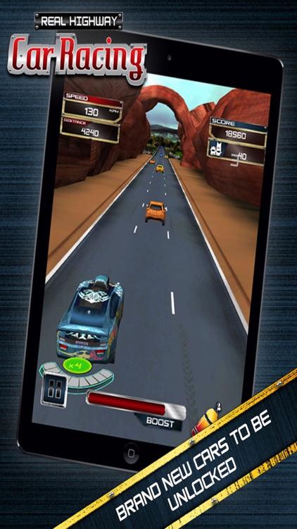 Real Highway Car Racing screenshot-4