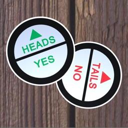 Decision Coin 3D: Flip or Spin Random Choice Maker