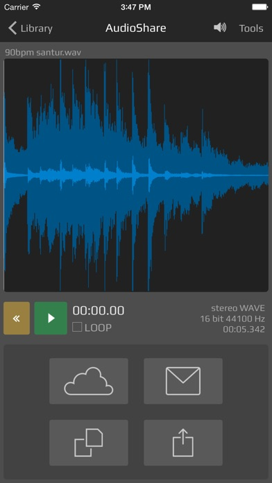 AudioShare screenshot1