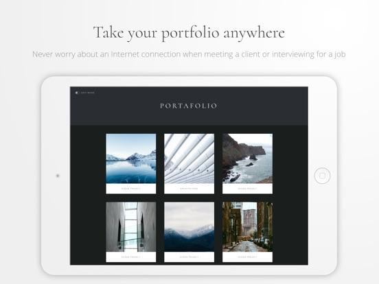 Portafolio - Design a Portfolio & Photo Albums Screenshots