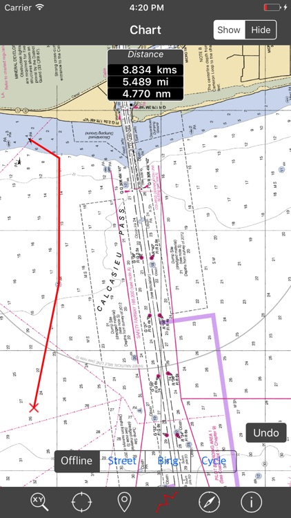 LOUISIANA – Raster Nautical Charts
