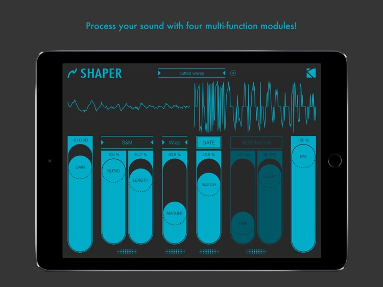 Shaper : smart audio destroyer screenshot-0