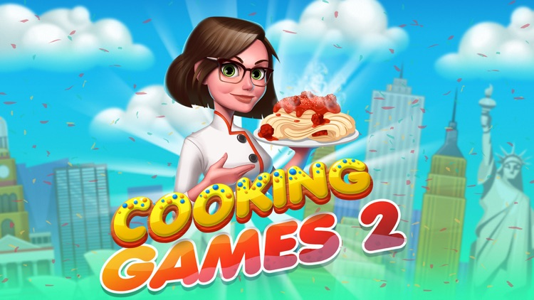 Cooking Games Fast Food Kitchen & Top Burger Chef