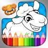 Coloring Book——教育类着色簿填色游戏,面向学龄前儿童和幼童