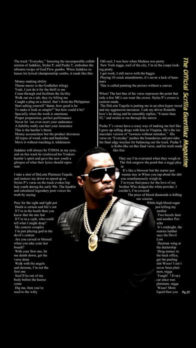 Scrilla Guerillaz MagazineScreenshot of 3