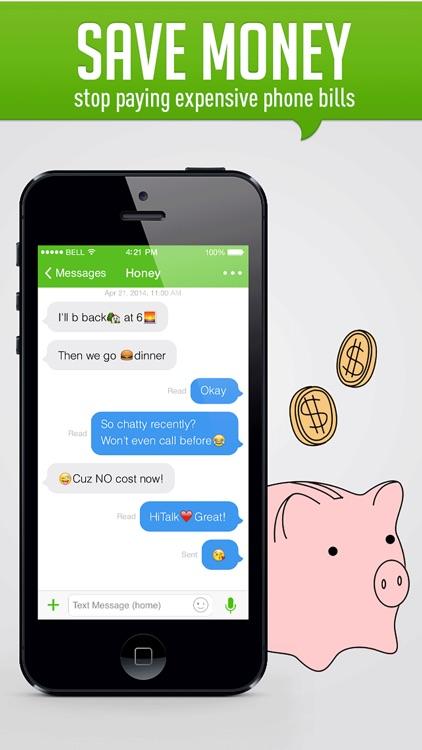 HiTalk - International Calling App, Texting, WiFi screenshot-4