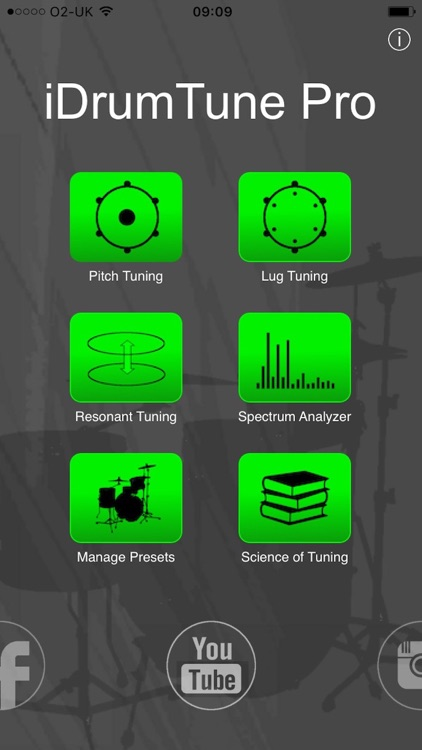 Drum Tuner - iDrumTune Pro screenshot-0