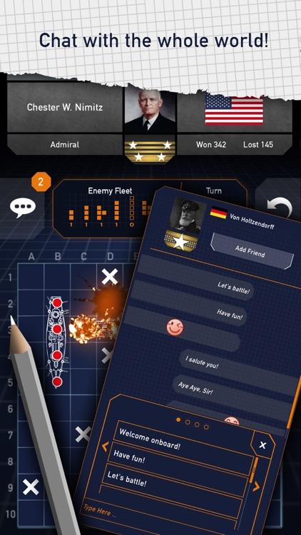 Fleet Battle: a Sea Battle game screenshot-3