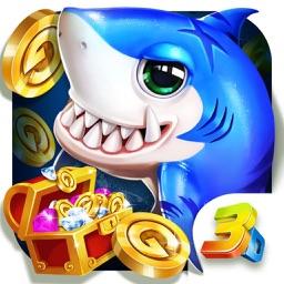 3D疯狂捕鱼-天天开心猎鱼欢乐扑鱼大师