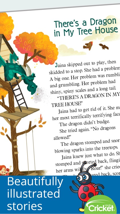 Ladybug Magazine: Fun stories and songs for kids screenshot-3