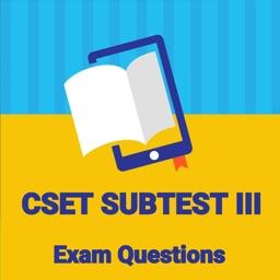Practice Test for CSET Subtest III