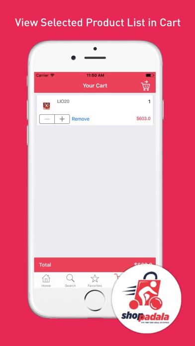 Shoppadala screenshot four