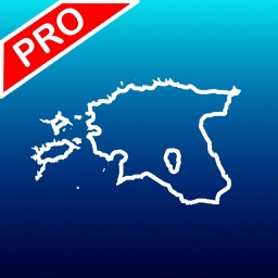 Aqua Map: Estonia - GPS Marine charts